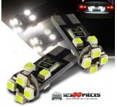 2 AMPOULES LED T10 W5W ANTI-ERREUR PLAQUE VEILLEUSE 6000K