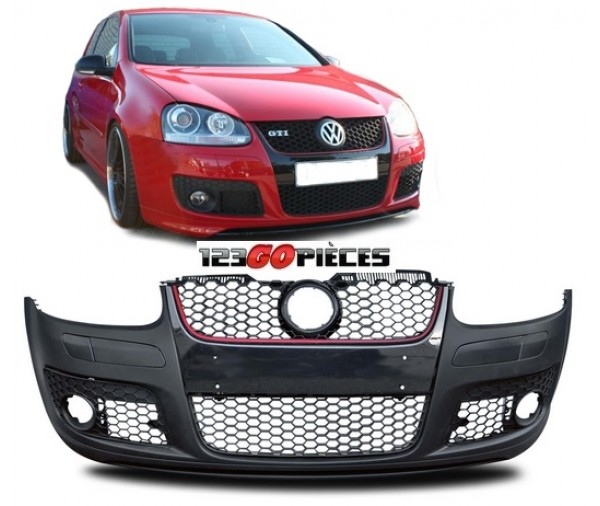 pare chocs avant type gti peindre volkswagen golf 5 2003 2008 249 90 volkswagen pi ces auto. Black Bedroom Furniture Sets. Home Design Ideas