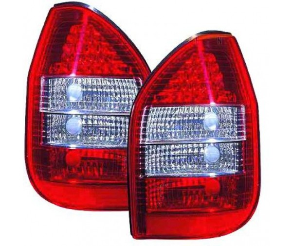 paire de feux ar design led rouge blanc pour opel zafira 1999 2005 199 90 pi ces design. Black Bedroom Furniture Sets. Home Design Ideas