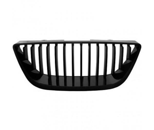 calandre de design sport noire pour seat ibiza 6j 2008 2012 59 90 pi ces design pi ces auto. Black Bedroom Furniture Sets. Home Design Ideas