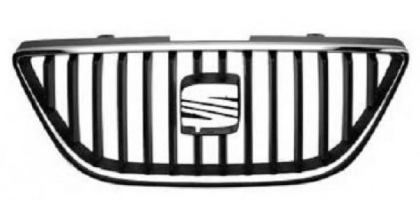 grille calandre noire chrome seat ibiza 2008 03 2012 59 90 pi ces de rechange pi ces auto. Black Bedroom Furniture Sets. Home Design Ideas