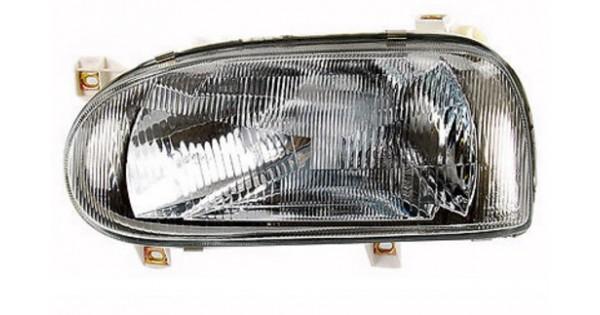 phare gauche conducteur h4 volkswagen golf 3 1991 1997 49 90 pi ces de rechange pi ces auto. Black Bedroom Furniture Sets. Home Design Ideas