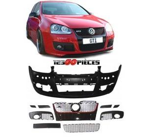Pare-chocs avant design GTI à peindre Volkswagen GOLF 5 2003-2008 - GO2214850