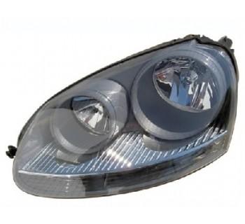phare gauche gris fonc pour volkswagen golf v 2003 05 2004 109 90 pi ces de rechange pi ces. Black Bedroom Furniture Sets. Home Design Ideas