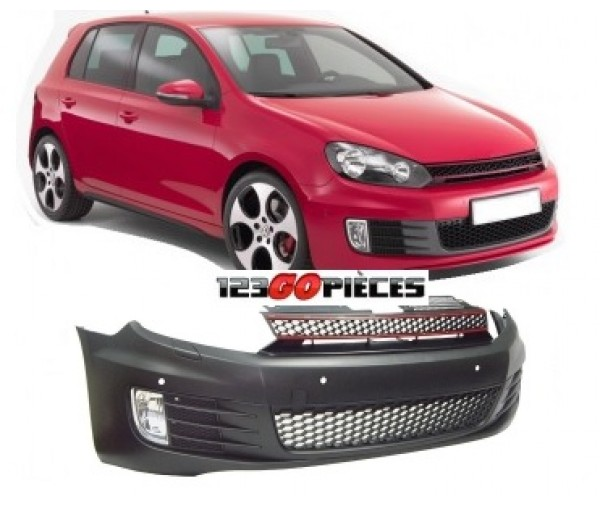 pare chocs avant type gti volkswagen golf 6 2008 2012 399 90 pi ces design pi ces auto. Black Bedroom Furniture Sets. Home Design Ideas