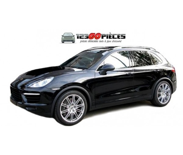 kit barres de toit gris alu pour porsche cayenne ii apr s 06 2010 299 90 cayenne ii 2010. Black Bedroom Furniture Sets. Home Design Ideas