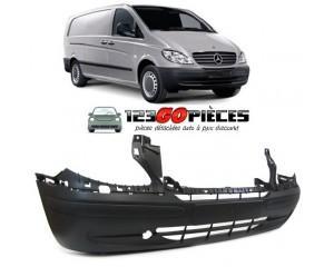 Pare-chocs avant (noir) Mercedes VITO W639 10/2003 au 09/2010