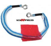 cable de remorquage avec crochets d'attelages 4 metres jusqu'à 2000 kgs