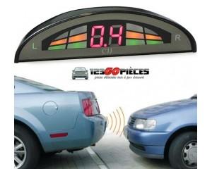kit radars de recul voiture aide au stationnement avec affichage LED