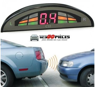 kit radars de recul voiture aide au stationnement avec affichage LED - GO28010