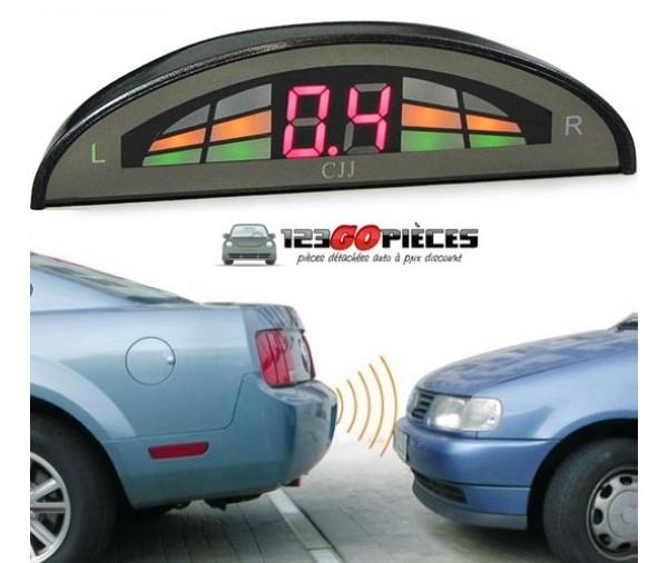 promo kit radars de recul voiture aide au stationnement. Black Bedroom Furniture Sets. Home Design Ideas