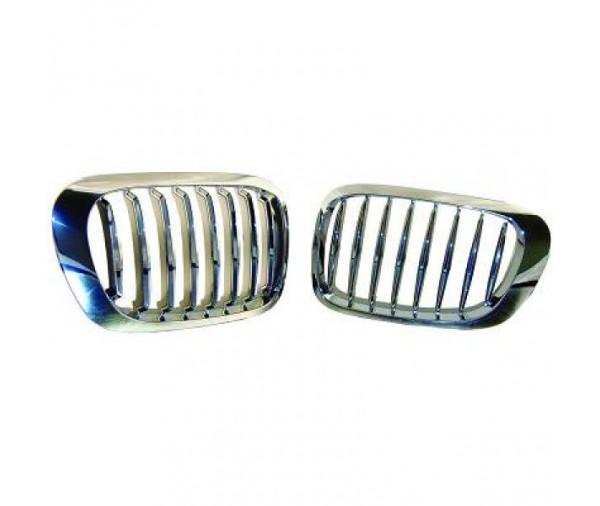 grilles de calandre chrom es bmw serie 3 e46 coup cabrio 1999 2003 59 90 pi ces design. Black Bedroom Furniture Sets. Home Design Ideas