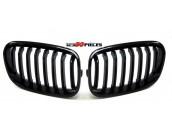 grilles de calandre noir brillant look M BMW serie 1 F20 2011-03/2015