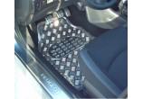 Tapis de Sol Universel voiture Look Chrome Aluminium