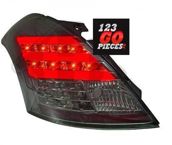 paire de feux led noir pour suzuki swift 2010 299 90 pi ces design pi ces auto carrosserie. Black Bedroom Furniture Sets. Home Design Ideas
