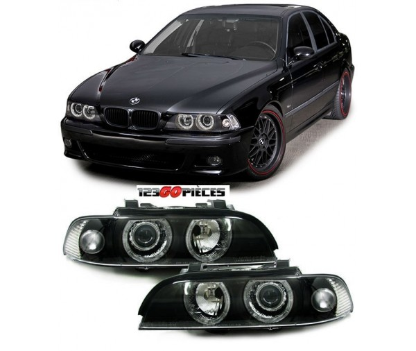 Paire De Phares X 233 Non Facelift Angel Eyes Bmw Serie 5 E39