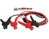 cables démarrage voiture diesel + essence 16mm² longueur 3 mètres