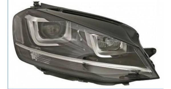 phare droit xenon d1s non directionnel volkswagen golf 7. Black Bedroom Furniture Sets. Home Design Ideas