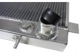 Radiateur eau aluminium racing universel