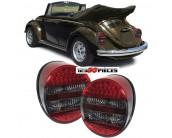 feux arrières LED rouge noir Volkswagen COCCINELLE depuis 1972->>