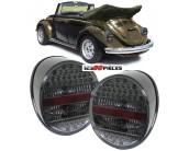 feux arrières LED cristal fumé Volkswagen COCCINELLE depuis 1972->>