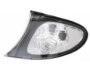 Clignotant gauche blanc bordure noire BMW serie 3 E46 2001-2005