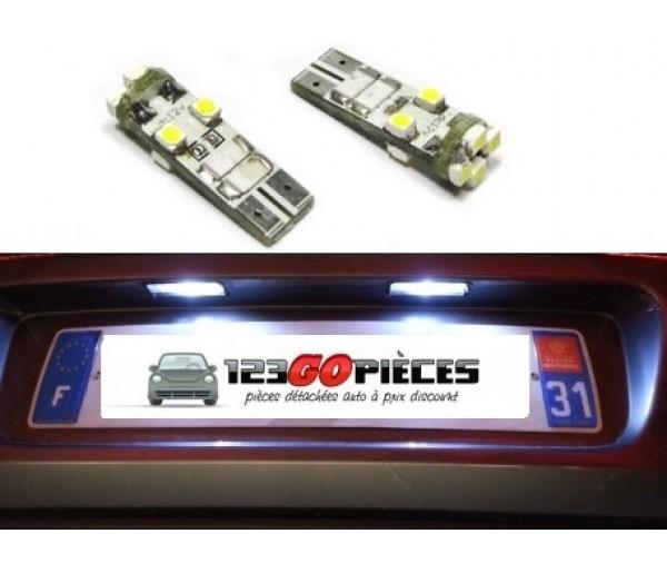 10 AMPOULE T10 W5W LED SMD BLANC XENON POUR PEUGEOT 306 ECLAIRAGE INTÉRIEUR