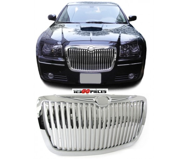 calandre design chrome design rolls royce chrysler 300c 2004 2011 109 90 300c 2004 2010 pi ces. Black Bedroom Furniture Sets. Home Design Ideas