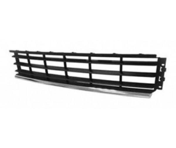 grille centrale pare chocs avant chrom e volkswagen passat 2010 2014 69 90 pi ces de. Black Bedroom Furniture Sets. Home Design Ideas