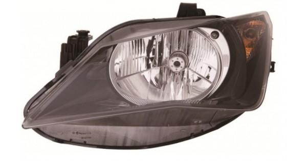 phare avant gauche conducteur h4 seat ibiza 04 2012 au 04 2015 99 90 pi ces de rechange. Black Bedroom Furniture Sets. Home Design Ideas