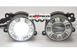 Paire de phares antibrouillards + feux LED diurnes intégrés Divers modèles    - GO1404688