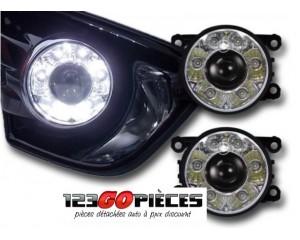 Paire de phares antibrouillards + feux LED diurnes intégrés Divers modèles