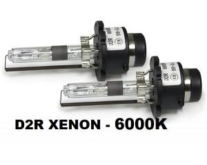 2 ampoules D2R Xenon 6000k 12v 35 watts