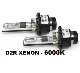 2 ampoules D2R Xenon 6000k 12v 35 watts - GO26402