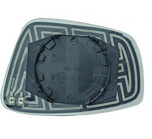 glace de rétroviseur gauche (chauffante) SKODA RAPID + SEAT TOLEDO 2012->> - GO7433127
