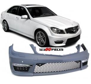pare chocs avant à peindre Look C63 AMG Mercedes Classe C (W204) 2011-2014 - GO1672851