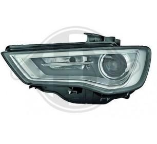 Phare Gauche (conducteur) XENON D3S LED (Directionnel) Audi A3 8V 2012->> - GO1033085