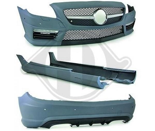 kit carrosserie complet design 55 amg mercedes slk r172 2011 2 990 90 pi ces design. Black Bedroom Furniture Sets. Home Design Ideas