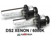 2 ampoules D2S Xenon 6000k 12v 35 watts
