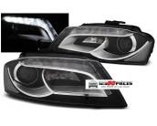 paire de phares LED H7+H7 Design Xenon Audi 8P A3 2008-2012