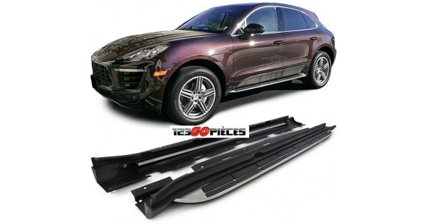 marche pied aluminium porsche macan partir de 2014. Black Bedroom Furniture Sets. Home Design Ideas