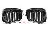 Grilles de calandre Noire Brillant Design M3 BMW serie 3 F30 + F31 depuis 2011->> - GO1217241