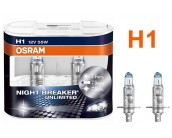 Pack de 2 Ampoules H1 Osram Night Breaker Unlimited 55w 12v
