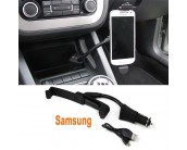 Support chargeur voiture Samsung allume cigare + USB