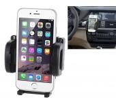 Support voiture téléphone universel grille aération rotation 360 degrés