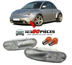Paire de feux clignotants blancs Volkswagen NEW BEETLE 1998-06/2005 - GO19216