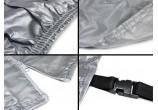 Bâche housse de protection extérieur en nylon voiture taille M 425x175x150 - GO29634