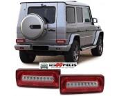feux arrières LED rouge blanc Mercedes classe G W463 1989-2016