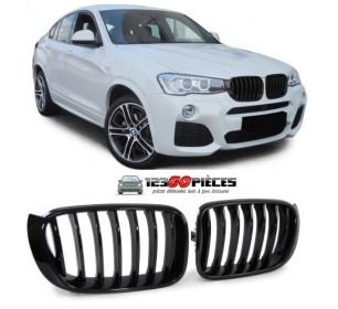 grilles de calandre (noir brillant) Sport M BMW X3 F25 + BMW X4 (F26) depuis 2014->> - GO33733