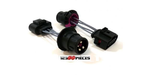 Cables Adaptateurs Pour Phares Avants Audi A3 8l 1996 2000 49 90 Pi Ces De Rechange Pi Ces